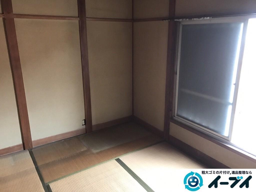 2017年2月24日大阪府堺市東区で遺品整理の依頼をいただき家具処分や生活用品を処分しました。写真5