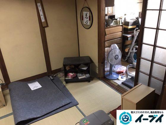 2017年3月5日大阪府茨木市で遺品整理に伴う片付け処分を行いました。写真2