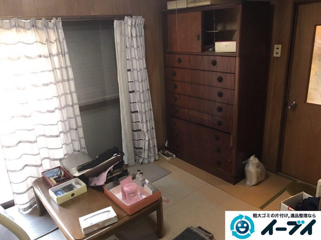 2017年3月10日大阪府大阪市大正区で足踏みミシンやタンスなど大型家具や粗大ゴミの不用品回収をしました。写真4