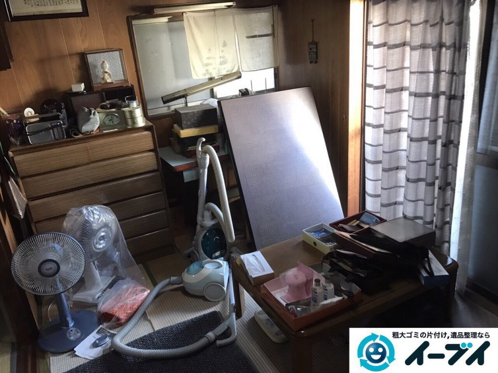 2017年3月10日大阪府大阪市大正区で足踏みミシンやタンスなど大型家具や粗大ゴミの不用品回収をしました。写真3