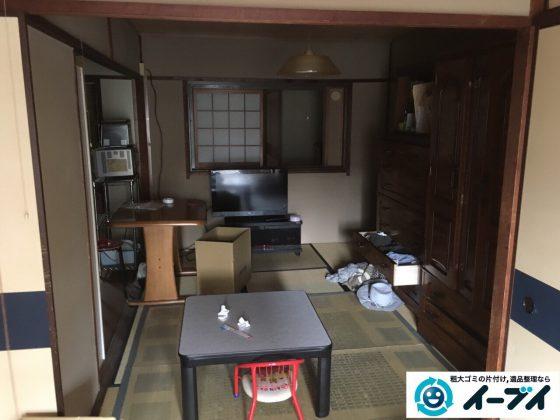 2017年3月31日大阪府高槻市で遺品整理に伴い遺品や家具処分をしました。写真8