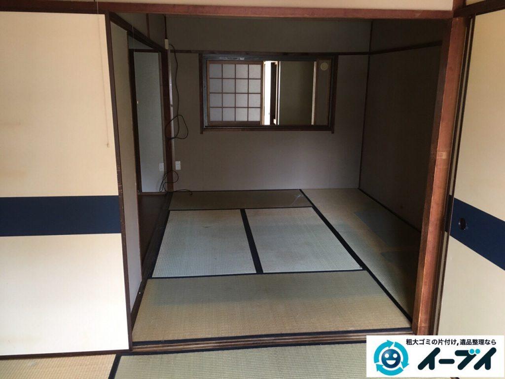 2017年3月31日大阪府高槻市で遺品整理に伴い遺品や家具処分をしました。写真5