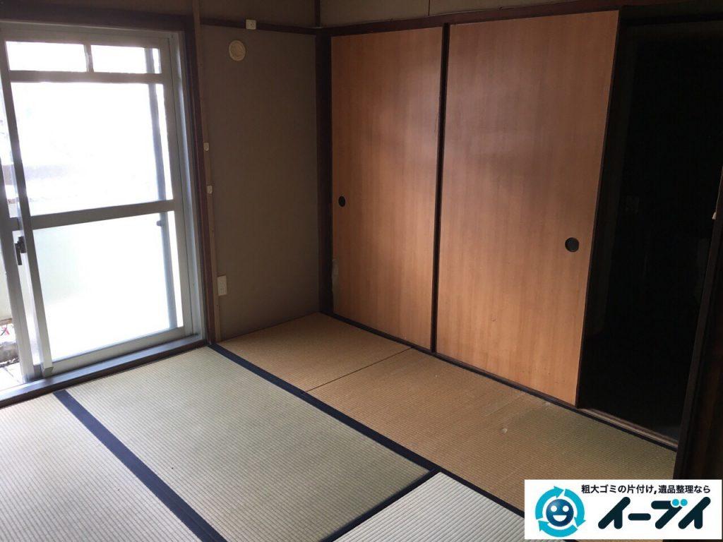 2017年3月31日大阪府高槻市で遺品整理に伴い遺品や家具処分をしました。写真4