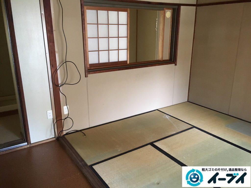 2017年3月31日大阪府高槻市で遺品整理に伴い遺品や家具処分をしました。写真3