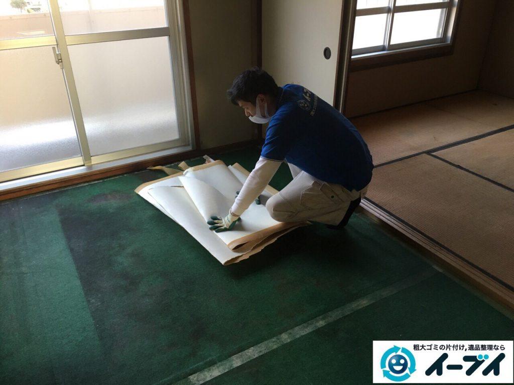 2017年3月19日大阪府大阪市東成区で遺品整理に伴い家具処分や片付けをしました。写真10