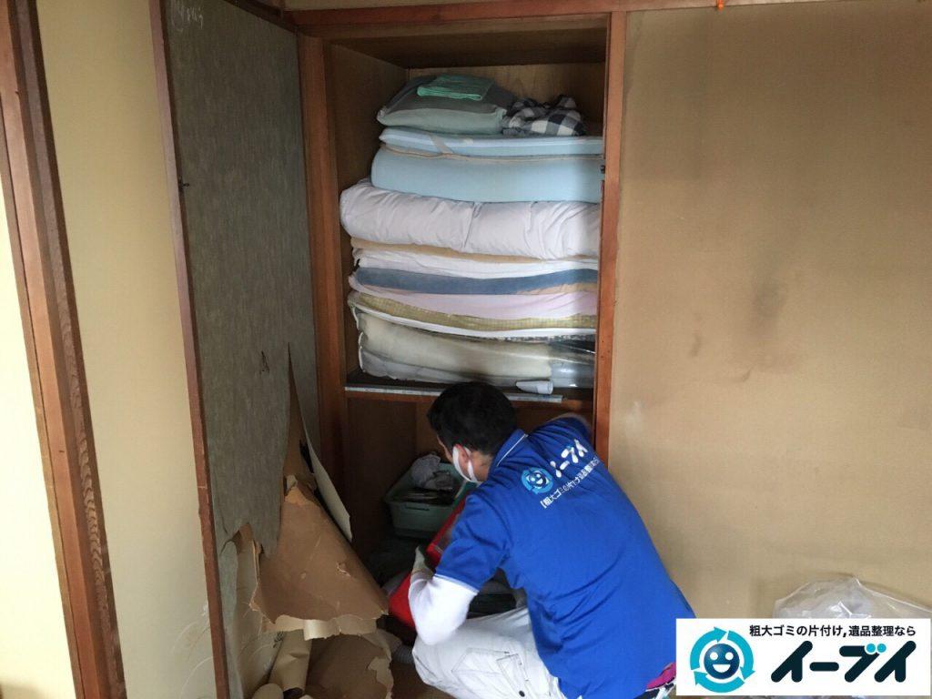 2017年3月11日大阪府大阪市旭区で遺品整理に伴い家具や生活ゴミの片付けをしました。写真2