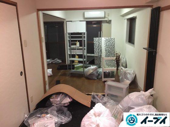 2017年3月23日大阪府大阪市福島区で家具処分や粗大ゴミの片付けで不用品回収を行いました。写真4
