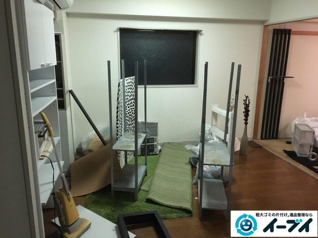 2017年3月23日大阪府大阪市福島区で家具処分や粗大ゴミの片付けで不用品回収を行いました。写真3
