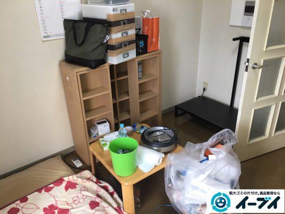 2017年3月17日大阪府大阪市中央区で引越しに伴う粗大ゴミの不用品回収とハウスクリーニングをしました。写真5