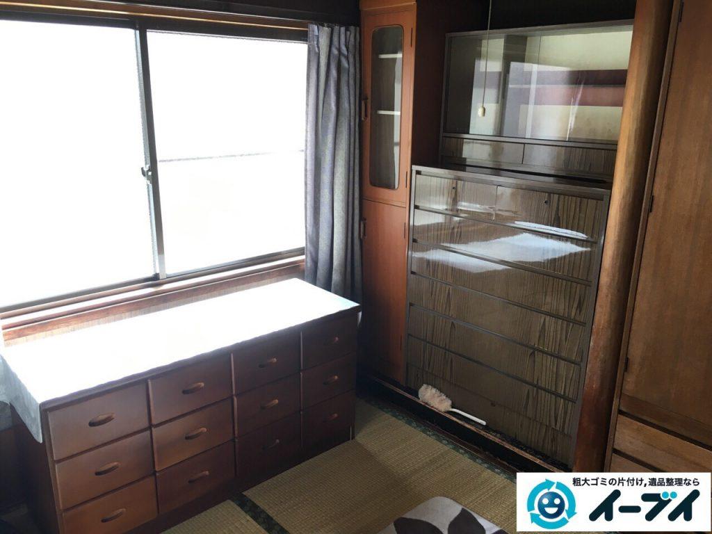 32017年3月25日大阪府大阪市平野区で婚礼家具の家具処分や粗大ゴミの不用品回収をしました。写真3
