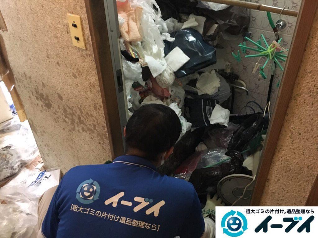 2017年3月26日大阪府大阪市淀川区でゴミ屋敷の生活ゴミや雑ゴミの片付けをしました。写真11