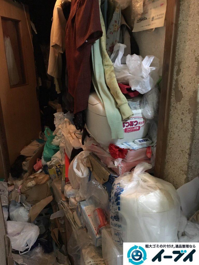 2017年3月26日大阪府大阪市淀川区でゴミ屋敷の生活ゴミや雑ゴミの片付けをしました。写真9