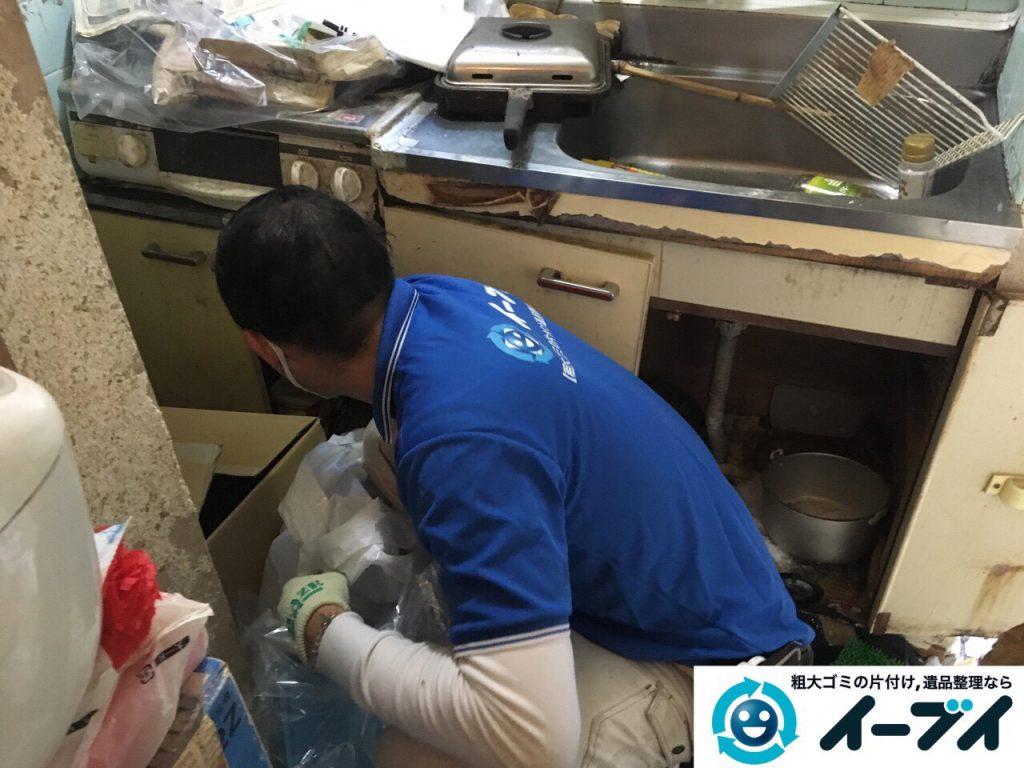 2017年3月26日大阪府大阪市淀川区でゴミ屋敷の生活ゴミや雑ゴミの片付けをしました。写真8