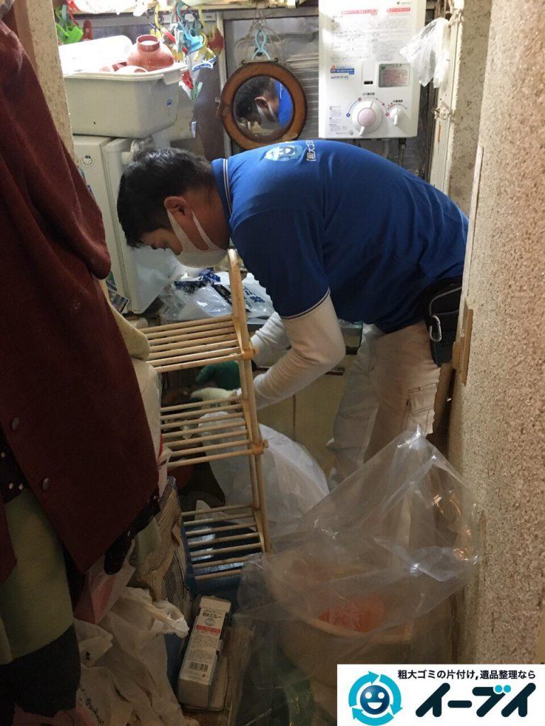 2017年3月26日大阪府大阪市淀川区でゴミ屋敷の生活ゴミや雑ゴミの片付けをしました。写真7