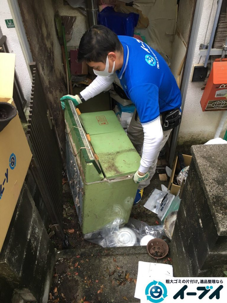 2017年3月26日大阪府大阪市淀川区でゴミ屋敷の生活ゴミや雑ゴミの片付けをしました。写真3