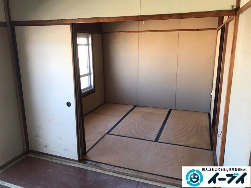 2017年3月19日大阪府大阪市東成区で遺品整理に伴い家具処分や片付けをしました。写真6