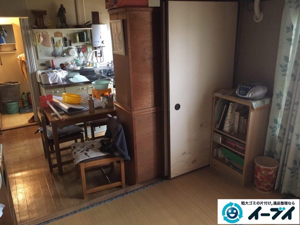 2017年3月19日大阪府大阪市東成区で遺品整理に伴い家具処分や片付けをしました。写真5