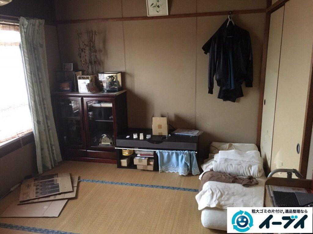 2017年3月19日大阪府大阪市東成区で遺品整理に伴い家具処分や片付けをしました。写真4