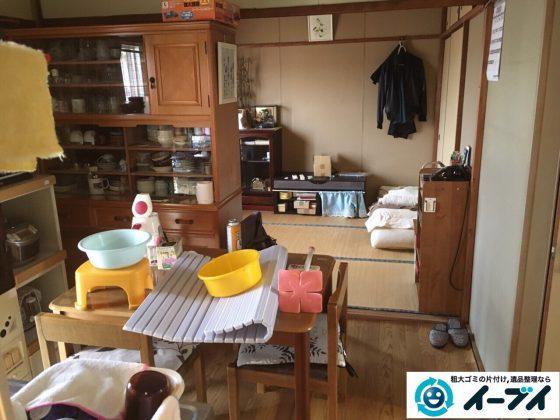 2017年3月19日大阪府大阪市東成区で遺品整理に伴い家具処分や片付けをしました。写真2