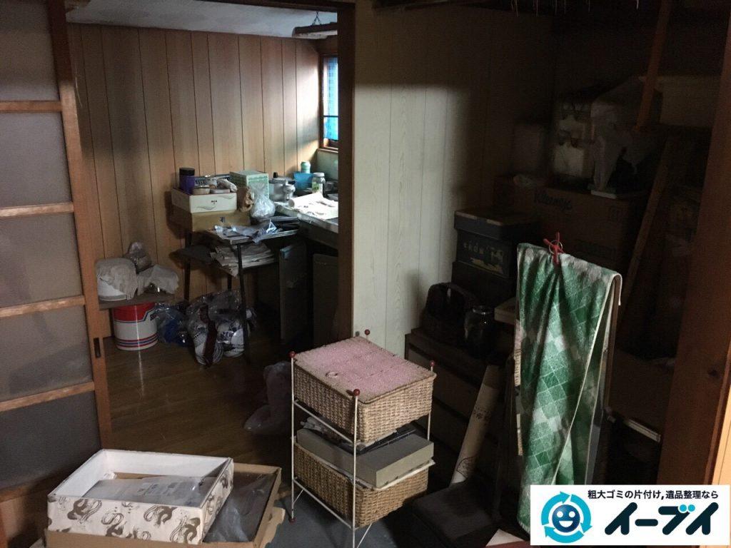 2017年3月11日大阪府大阪市旭区で遺品整理に伴い家具や生活ゴミの片付けをしました。写真8