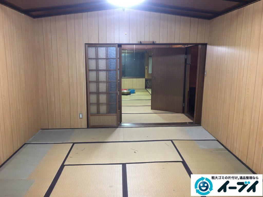 2017年3月11日大阪府大阪市旭区で遺品整理に伴い家具や生活ゴミの片付けをしました。写真6