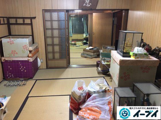2017年3月11日大阪府大阪市旭区で遺品整理に伴い家具や生活ゴミの片付けをしました。写真5