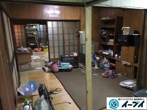 2017年3月28日大阪府大阪市浪速区で遺品整理に伴う生活硫黄品の片付けをしました。写真2