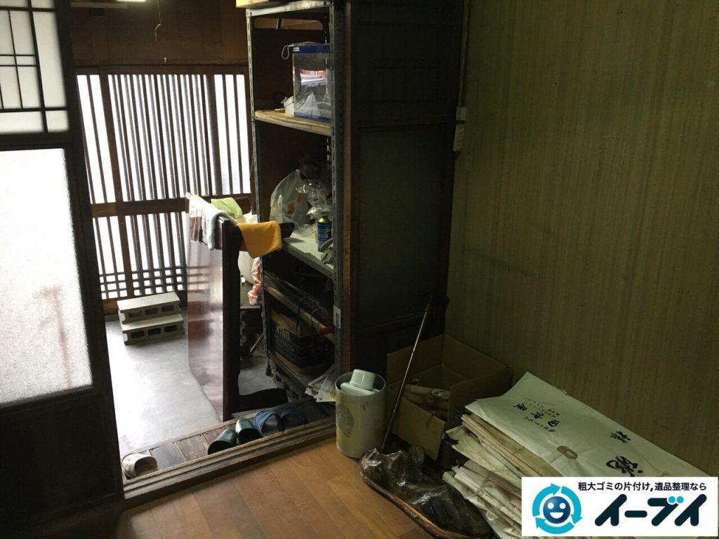 2017年3月14日大阪府大阪市西成区で廃品や粗大ゴミの不用品回収を行いました。写真1