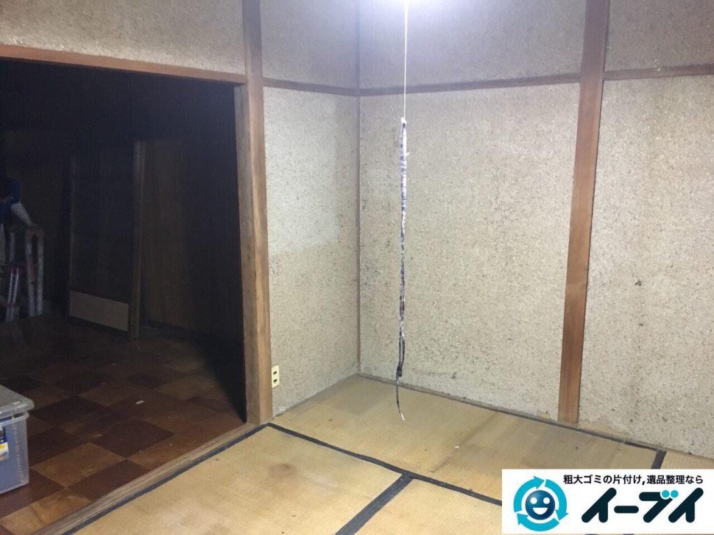 2017年4月3日大阪府寝屋川市で遺品整理に伴い家具や粗大ゴミの片付けをしました。写真8