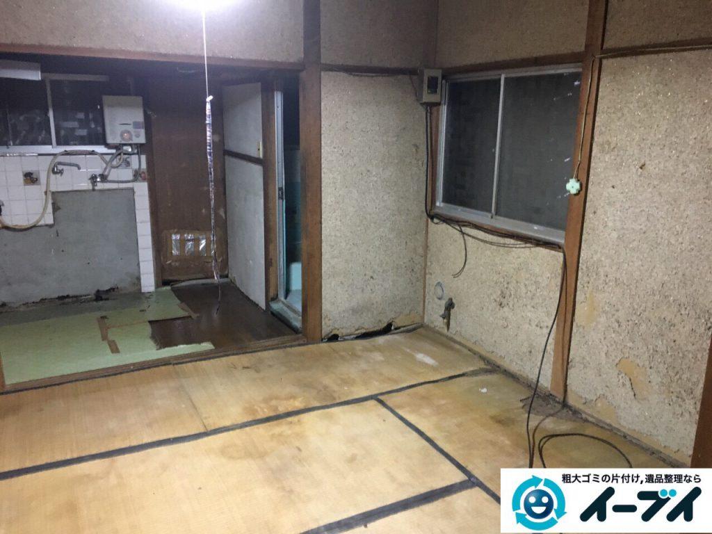 2017年4月3日大阪府寝屋川市で遺品整理に伴い家具や粗大ゴミの片付けをしました。写真7