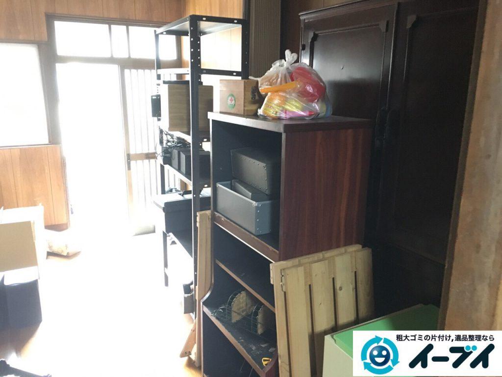 2017年4月3日大阪府寝屋川市で遺品整理に伴い家具や粗大ゴミの片付けをしました。写真5
