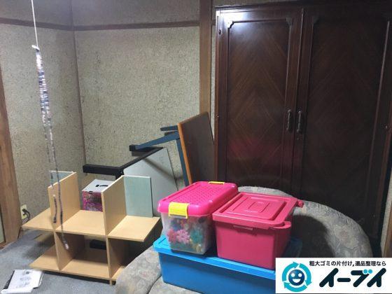 2017年4月3日大阪府寝屋川市で遺品整理に伴い家具や粗大ゴミの片付けをしました。写真4