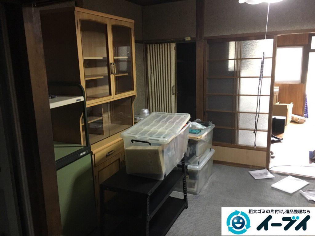 2017年4月3日大阪府寝屋川市で遺品整理に伴い家具や粗大ゴミの片付けをしました。写真3
