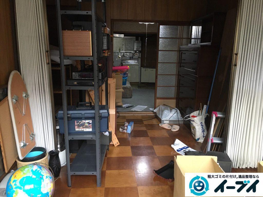 2017年4月3日大阪府寝屋川市で遺品整理に伴い家具や粗大ゴミの片付けをしました。写真1