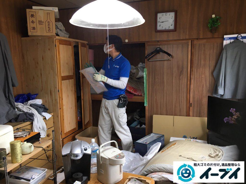 2017年4月6日大阪府豊中市で遺品整理に伴い家財道具の処分をしました。写真8