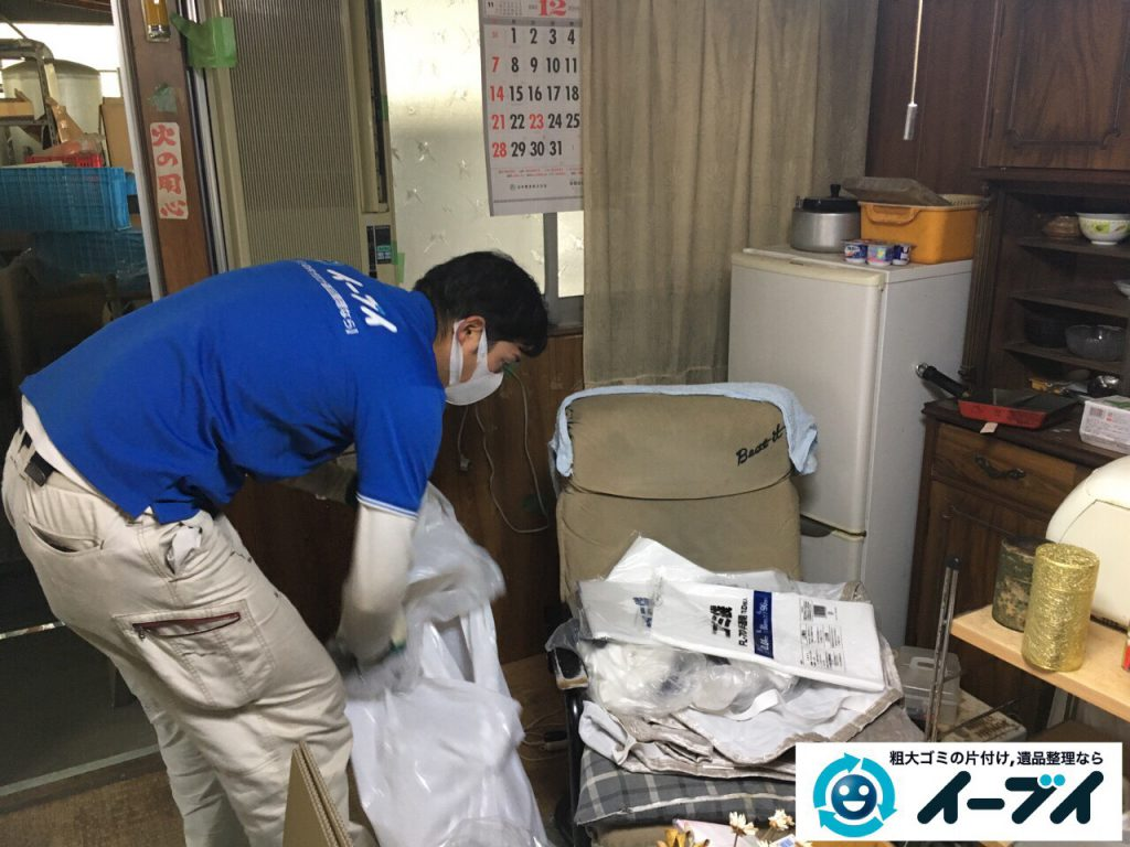 2017年4月6日大阪府豊中市で遺品整理に伴い家財道具の処分をしました。写真7