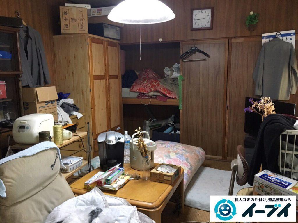 2017年4月6日大阪府豊中市で遺品整理に伴い家財道具の処分をしました。写真6
