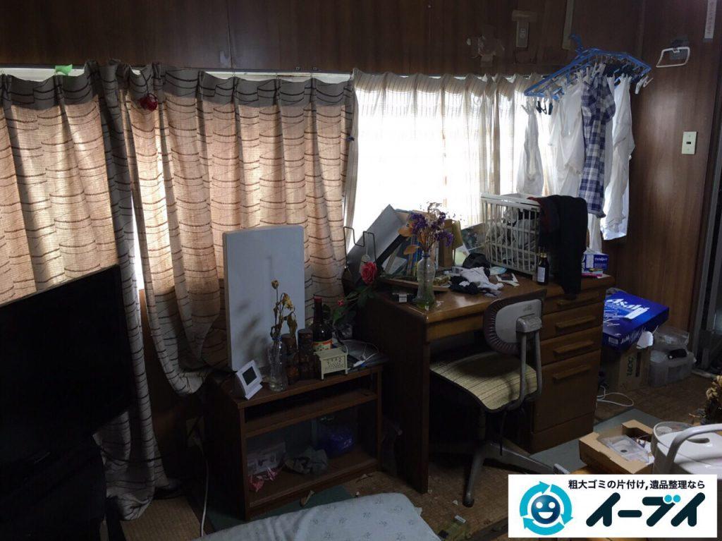 2017年4月6日大阪府豊中市で遺品整理に伴い家財道具の処分をしました。写真4