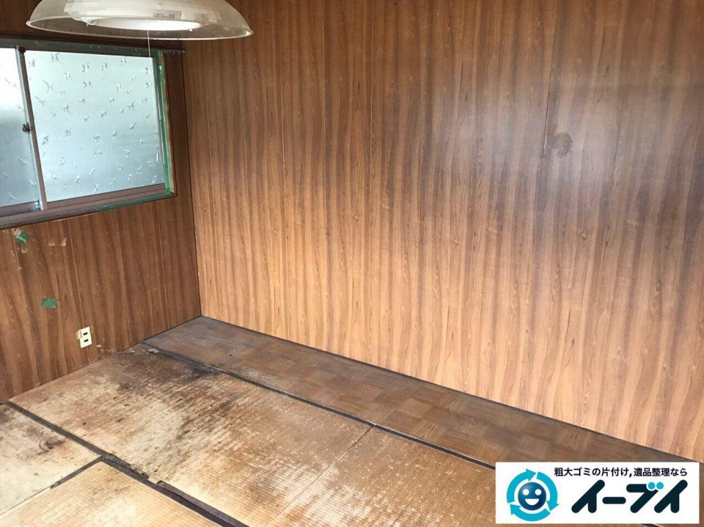 2017年4月6日大阪府豊中市で遺品整理に伴い家財道具の処分をしました。写真2