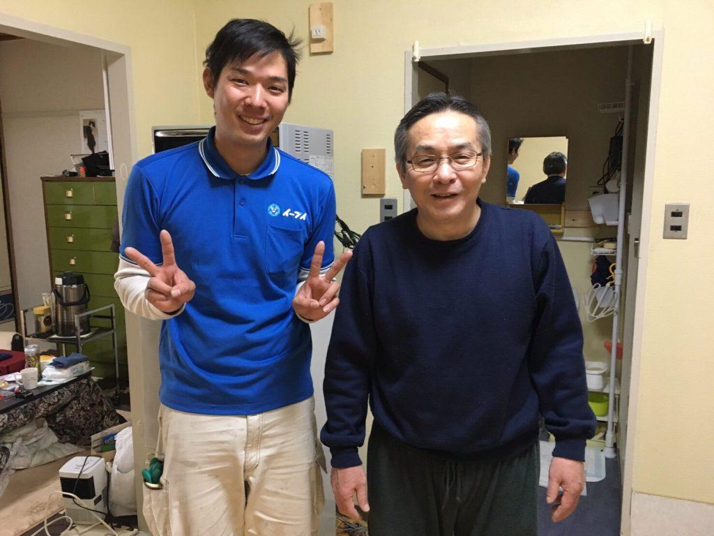 2017年3月30日大阪府東大阪市で不要な家具や家電の処分でイーブイを利用して頂きました。