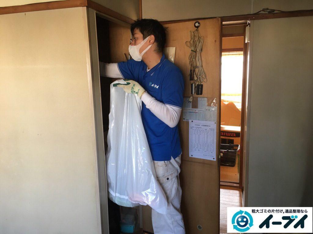 2017年4月16日大阪府摂津市で遺品整理に伴う家具や遺品の片付けをしました。写真9
