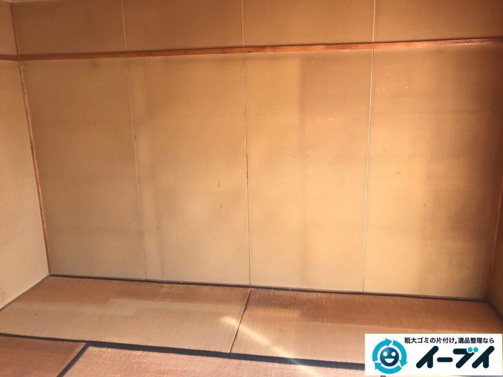2017年4月16日大阪府摂津市で遺品整理に伴う家具や遺品の片付けをしました。写真6