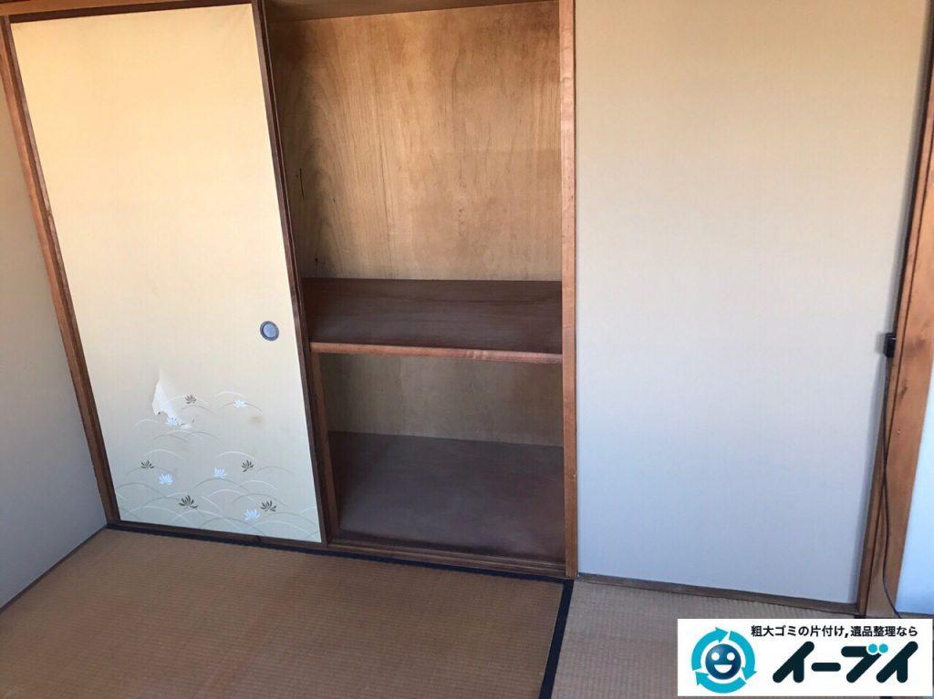 2017年4月16日大阪府摂津市で遺品整理に伴う家具や遺品の片付けをしました。写真5