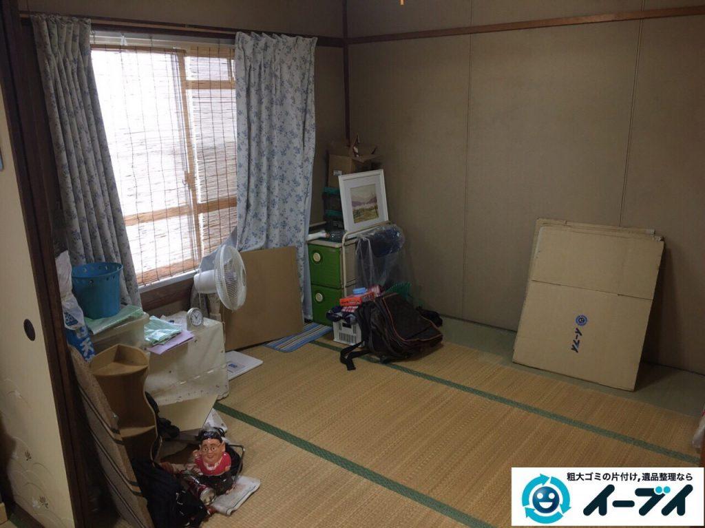 2017年4月16日大阪府摂津市で遺品整理に伴う家具や遺品の片付けをしました。写真3