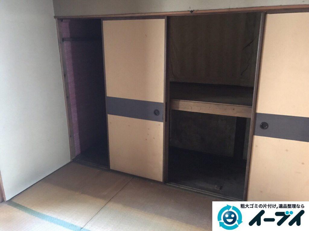 2017年4月21日大阪府大阪市北区で遺品整理に伴い家具や遺品処分をしました。写真6