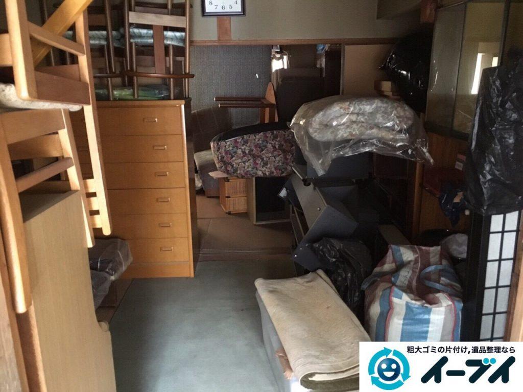 2017年4月21日大阪府大阪市北区で遺品整理に伴い家具や遺品処分をしました。写真3