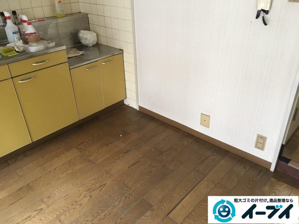 2017年4月12日大阪府大阪市旭区でソファーやテーブル等の粗大ゴミの不用品回収をしました。写真3