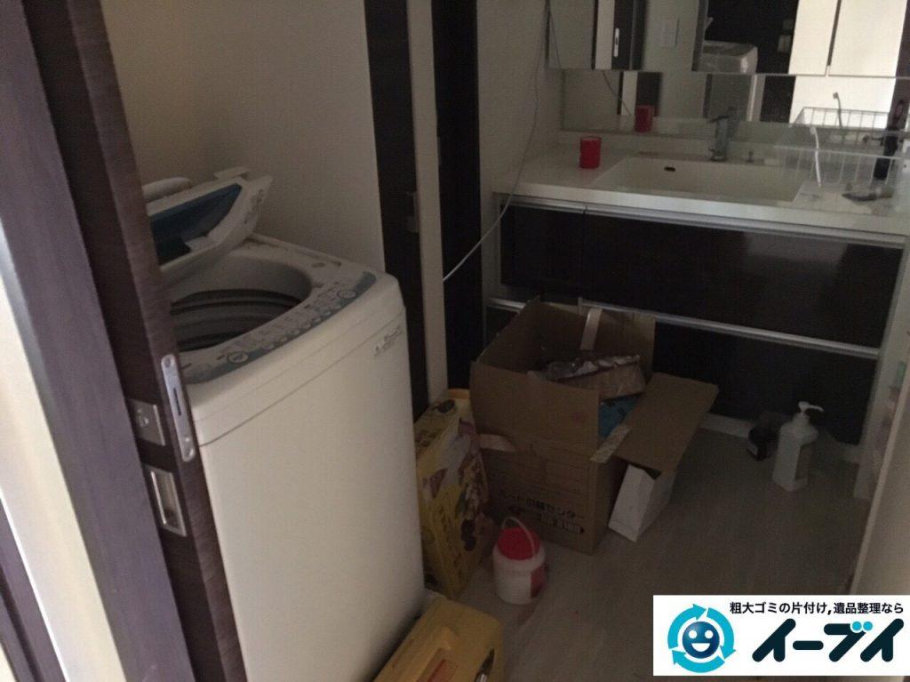 2017年4月25日大阪府堺市北区で洗濯機や大型家具の不用品回収をしました。写真3