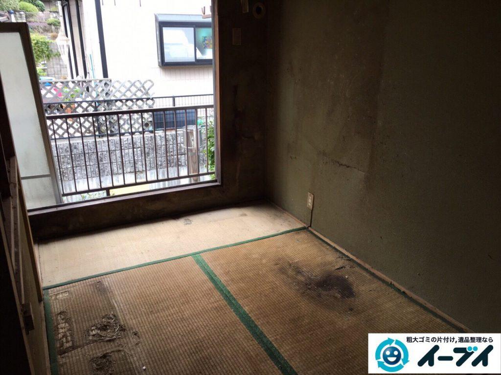 2017年4月28日大阪府茨木市でゴミ屋敷の片付け処分をしました。写真9
