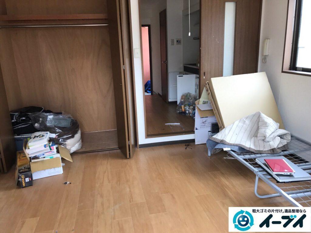 2017年5月1日大阪府大阪市天王寺区で引っ越しに伴う引越しゴミやベランダの廃品の不用品回収をしました。写真2